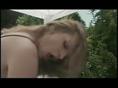 Hannah huter banged outdoors