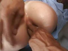 Blond sluts juicy pink cunt fucked