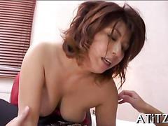 Busty asian bitch has a hardcore fucking