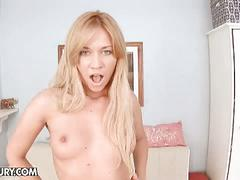 Lindsey hot anal masturbation