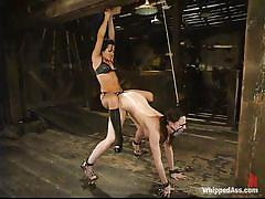 Ball gagged milf fucked slapped and humiliated by a mistress
