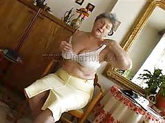 granny, big tits, solo, masturbation, saggy, undressing, old, fat, tits groping, gray hair, oma hotel, old nanny, gerlinde, gerlinde, oma hotel, oma cash