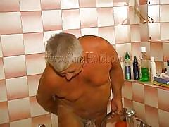 granny, bathroom, saggy tits, shower, undressing, old fart, wet bodies, oma hotel, old nanny, heidrun, heidrun, oma hotel, oma cash