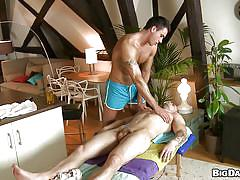 A massage led to some sexual tension