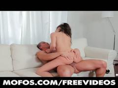 Italian brunette's anal stuffing