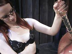 Claire adams really puts it to her slave