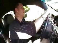 Driver fucks big titt busty boss