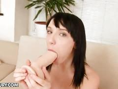 Lina's dildo stuffing feats
