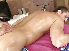 massage, gays, hard cock, licking balls, gay blowjob, gay deepthroat, oiled gay, hunk, muscled gays, alex m, caleb moreton, rub him, haze cash