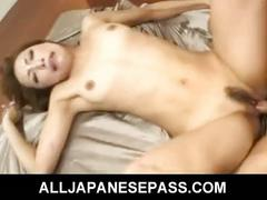 Aya sakuraba with a cock in her mouth has a wild 69 ride