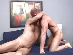 Horny daddies hardcore anal drilling