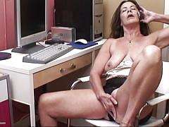 orgasm, mature, saggy tits, masturbation, grandma, phone sex, gilf, pussy fingering, phone talking, shaved pussy, tia r., usa mature, mature money