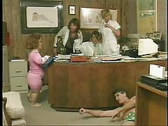 milf, blonde, threesome, big tits, ass licking, midget, office, blowjob, weird, pussy licking, gidget, dave hardman, jamie leigh, steve hatcher, midget porn pass, pimproll