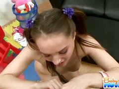 Dick sucking babysitter tori black
