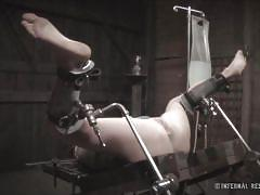 Humiliated and then receives an enema