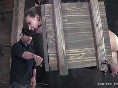 Casey calvert put in bondage box