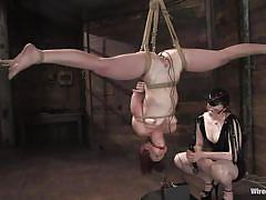 Claire's so good, she makes trinity cum upside down!