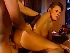 Busty sexy babe - italian classic
