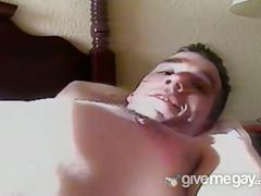 Amateur gay guys fucking and sucking in the room