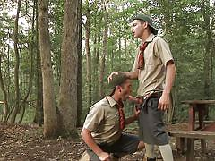 outdoor, forest, young gay, gay handjob, gay blowjob, gay on knees, scout boys, big dicks at school, men, johnny rapid, ck steel