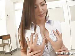 student, babe, japanese, teacher, big boobs, uncensored, brunette, boob rubbing, jp teacher, all japanese pass, yuna shiina