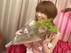 Rika sakurai's probing delights