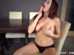 Milf emits the sexiest orgasmic moans