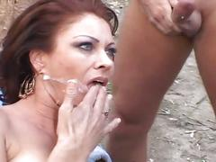Gang-bang from trailer trash moms 2
