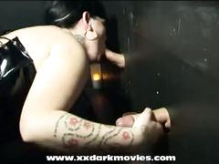 Danish nikita is gloryhole and bukkake fun