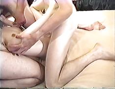 Teen girl fucked with three guys at the same time