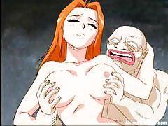 Busty blonde chick fucked by an ugly looking dude