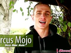 "Marcus mojo, ""im a next door male"""