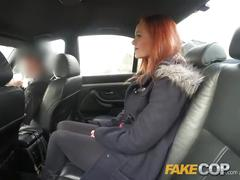 public, reality, red head, british, fakecop, redhead, police, uniform, fantasy, car-sex, babe, big-cock, pov, blowjob, amateur, small-tits, trimmed, reverse-cowgirl
