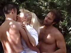 Beautiful mature italian blonde fucked