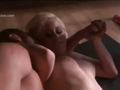 Celeb barbie girl gets her pussy eaten