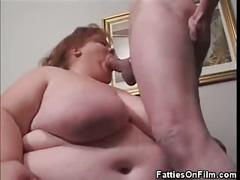 Bbw babe cock sucking, tit and armpit fucking
