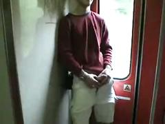 Amateurwow.com | filthy czech slut swallows on public train | #1 amateur movies
