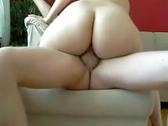 Homemade anal fuck with creampie