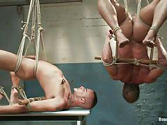 anal, bondage, bdsm, hanging, foursome, tattooed, gays, tied up, gay domination, ropes, ballgag, jessie colter, master avery, van darkholme, derek pain, bound gods, kinky dollars