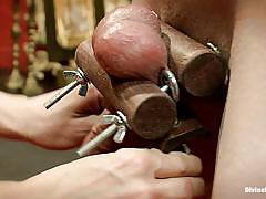 Some cock torture brought to you by divine madeline
