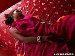 Slutty indian masturbates