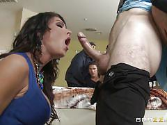 milf, big tits, blowjob, watching, brunette, pov, sucking tits, police officer, real wife stories, brazzers network, brick danger, jessica jaymes