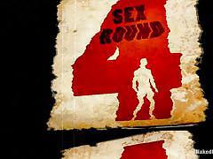 wrestling, foursome, domination, blowjob, gays, fuck team, muscular, gay orgy, on knees, tanner wayne, leo forte, tyler alexander, blake daniels, naked kombat, kinky dollars