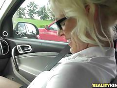 glasses, stockings, seduce, talking, couch, undressing, pick up, blonde milf, in car, boobs grope, kaylee brookshire, milf hunter, nasty dollars