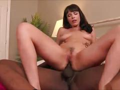 Interracial anal reverse cowgirl compilation #1