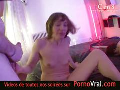 Hidden cam in a french swingers club! part20