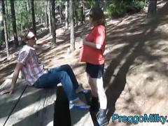 Pregnant anal fucking amateur slut outdoor