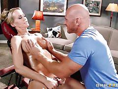 tattoo, handjob, massage, busty, oiled, rubbing, blonde milf, dick sucking, sexy lingerie, dirty masseur, brazzers network, johnny sins, simone sonay