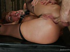 Savannah gets her ass gaped