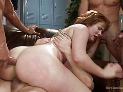 Ginger milf gang banged